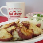Diner-Style Baked Potato Home Fries - Tender, crisp-edged home fries start their lives as baked potatoes, either fresh-made or leftovers. That's the secret to their texture.