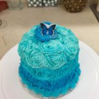 Blue Suede Cake - This is a very easy variation of the ever-so-popular and very delicious red velvet cake... hope you like it!