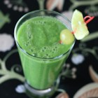 Broccolious - Get your 'green' on with this quick-and-easy, refreshing smoothie made with broccoli, cucumber, grapes, and lime.