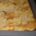 Sugar-Free Bread Pudding with Whiskey Sauce - A classic bread pudding recipe made with raisins and broiled with a creamy whiskey sauce before serving. This bread pudding recipe is from the famous Bon Ton Cafe in New Orleans, modified to use sucralose sweetener.
