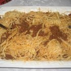 Beef Mushroom Spaghetti - Norene Wright from Manilla, Indiana uses just six simple ingredients to prepare this hearty spaghetti casserole. 'Garnish it with Parmesan cheese and serve it with a tossed salad and garlic bread,' she recommends.