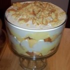 Banana Trifle - Pound cake, whipped cream, banana pudding, and vanilla wafers are layered to form this easy trifle that's sure to please.
