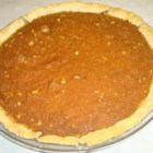 Carrot Spice and Walnut Pie - Pureed baby carrots are spiced and mixed with honey, nuts, butter, eggs and lots of sugar. This lovely, sweet concoction is then spooned into a pastry shell and baked for about an hour. Serve this wonderful pie warm with whipped cream.