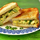 Egg-Style Avocado Salad Sandwiches - Avocado and kala namak salt work together to create the texture and flavor of eggs in this egg-free egg-salad-like picnic salad.