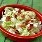 Trail Cabbage with Cream - Cabbage never tasted as good as it does in this recipe for trail cabbage sauteed with bacon, butter, and finished with cream.