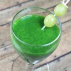 Cool Kale Smoothie - Fresh kale and green grapes are blended into a refreshing green smoothie perfect for on-the-go.