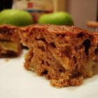 Apple Bars - This easy snack cake is made with diced tart apples, chopped walnuts, and a hint of cinnamon.