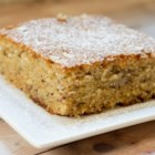 Banana-Oatmeal Cake (Screwed-Up Mother's Day Cake)  - This banana and oatmeal cake is a crowd-pleasing, moist cake to serve on special occassions like Mother's Day or Easter.