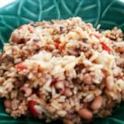 Creole Black-Eyed Peas and Rice - An easy spicy dish made with rice and black-eyed peas. Adjust the spices to your needs - less Creole Seasoning if you like it mild, add chili powder or cayenne pepper for more kick!