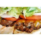 Ground Beef Bar-b-que - Easy, inexpensive, but delightfully seasoned barbequed burgers.