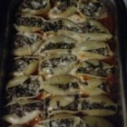 Meat-Free Stuffed Shells  - Vegetarian stuffed shells use seasoned tofu instead of ricotta cheese, but they taste almost the same because they're coated in pasta sauce and oozing with melted mozzarella cheese.