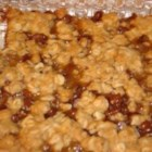 Oatmeal and Everything Bars - This recipe contains oatmeal, caramel and chocolate, and makes really chewy, delicious bars.
