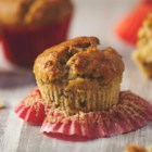Banana Coconut Pecan Muffins - These banana muffins with pecans and coconut are fantastic for breakfast, served alongside a lovely fruit assortment and coffee.