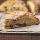 Chocolate-Hazelnut Marble Cake Scones - These easy scones with dark chocolate chips and a hint of hazelnut are perfect for brunch or a tea-time snack.