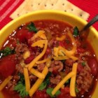 My Simple Chili - This basic chili recipe includes all the important ingredients: ground beef, tomatoes, kidney beans, and chili powder for a simple and delicious chili every time.