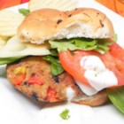 Black Bean and Potato Veggie Burgers - Black beans, potatoes, and a blend of vegetables come together in this recipes for well-flavored veggie burgers.