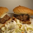 Specials - These are grilled hamburgers that are very special because they are so moist and delicious. No need to melt cheese on the top because it is mixed into the patty. Serve on buns with your favorite condiments.