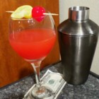 The Billionaire Cocktail - This cocktail tastes like a million bucks and then some. It's a bourbon whiskey cocktail with lemon juice, simple syrup, absinthe bitters, and grenadine.