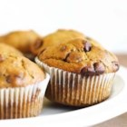 Pumpkin Chocolate Chip Muffins - These muffins use canned pumpkin, spices and chocolate chips. They can be made any time of year, but are especially good during Autumn.