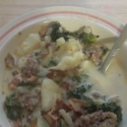 Quick Super-Delicious Zuppa Toscana - If you love the Zuppa Toscana at your local Olive Garden(R), you'll love this recipe for rich soup packed with Italian sausage, potatoes, and kale.