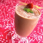 Chocolate-Covered Strawberry Smoothie - Ovaltine(R) is the secret ingredient in this chocolate-covered strawberry smoothie that is perfect for breakfast or as an anytime snack!