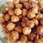 Easy Roasted Chickpeas - Roasted chickpeas with a touch of salt are great for snacking or as crunchy topping for salads.