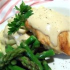 Balsamic Cream Sauce - The vinegar and cream go very well together.  Best when sauteed chicken and asparagus is added to the mix.