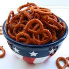 Betty's Pretzels - Make this quick snack out of nothing more than pretzels, onion soup mix, and butter.