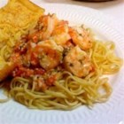 Shrimp Linguine - Pasta with shrimp in a creamy cheese and herb sauce. I created this dish after trying a similar dish at a restaurant.  It's wonderful!