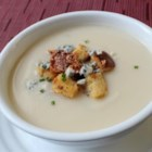 Roasted Apple and Parsnip Soup - Chef John's recipe for roasted apple and parsnip soup makes for a delicious and comforting winter meal.