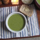 Broccoli Soup - Broccoli and potatoes are pureed with garlic and onions, and seasoned with a hint of nutmeg.