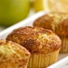 Apple Lemon with Cinnamon Muffins - A touch of lemon and cinnamon makes these moist apple muffins particularly delicious!