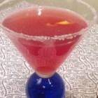 Tangy Pomegranate Martini - Citron vodka and pomegranate juice make a simple and delicious martini.