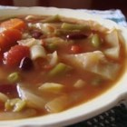 Italian Vegetable Soup - A vegan main dish soup that is hearty and tastes great with crusty bread.