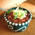Slow Cooker Chili II - Hearty chili made in the slow cooker is an easy recipe to prepare for cold weeknight dinners.