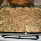 Ultimate Side Dish - Creamy, crunchy, feel good side dish. Perfect as a side dish on Thanksgiving. Goes great with chicken and pork chops. Sometimes on a rainy day I'll just eat a great big bowl of it. You can save on calories by using water instead of milk and going a bit easy on the French fried onions.