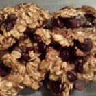 No Sugar Oatmeal Cookies - Applesauce, bananas, and raisins provide the sweetness in this oatmeal cookie recipe.