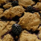 Blackberry Grunt - Sweetened blackberries are topped with buttermilk-based dough and baked into a rich and cobbler-like grunt.