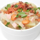German Sauerkraut Soup - This German New Year's soup contains pork and sauerkraut for good luck in the new year.  It's wonderful with fresh warm bread. This recipe has been a family tradition for forty years
