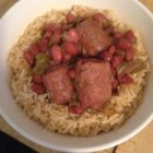 Healthy Red Beans and Rice - This take on the classic Cajun dish uses turkey sausage to cut some of the fat from more-traditional versions.