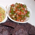 Fresh Salsa II - A few fresh vegetables mixed together make one tasty salsa!