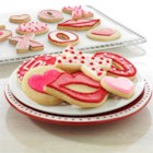 Valentine's Day Cookies from Reynolds(R) Kitchens - These pretty Valentine's Day cookies can be decorated in so many ways--icing, sugar crystals, piped messages. A sweet little treat for that special someone.