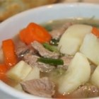 Irish Stew - Every Irish household has their own version of this famous dish-so here's mine. I like to add chunky pieces of parsnip for a little sweetness, and fresh rosemary gives it a distinct flavour and aroma. If you use a tougher cut of meat, you can leave it to simmer longer before adding the potatoes. Fantastic on a cold, blustery day-served with a pint of the black stuff, of course!
