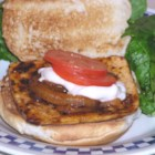 Barbecue Tofu Sandwiches - Slices of tofu and onion are cooked in vegetable oil until golden. Barbeque sauce is poured in the pan and everything simmers away for about ten minutes. Serve on warmed buns.