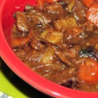 Ultimate Guinness(R) Beef Stew - Browned cubes of beef stew meat simmer until tender and flavorful in a stew made with Irish dark beer, potatoes, and carrots.