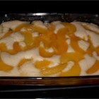 Lazy Peach Cobbler - Very easy cobbler. Designed for the laid back person looking for a recipe that tastes like it took a lot of work. Great for other fruits too, enjoy the easy life!
