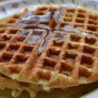 Corny Oatmeal Waffles - Corn and oatmeal waffles are a wheat- and dairy-free version of waffles that are so flavorful no sweetener is needed!