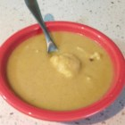 Curried Cauliflower Soup - A simple, delicious soup for cold winter days.