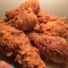 Millie Pasquinelli's Fried Chicken - Dredged with seasoned flour, chicken pieces are dipped in beaten egg then tossed again in the flour to ensure a deliciously crispy, juicy fried chicken.