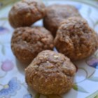 Peanut Butter Energy Balls - Peanut butter energy balls with wheat germ and powdered milk are packed with flavor and will give you an energy boost!